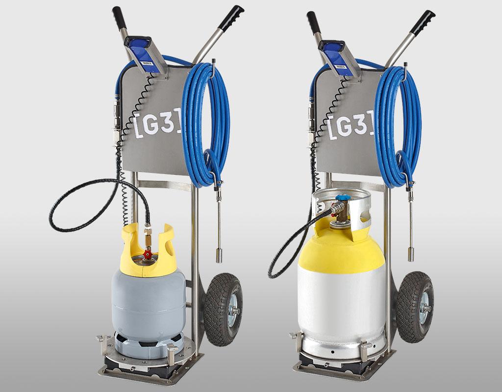 Dosage par pesage pour GAZ SO2